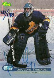 1995 Images Autographs #6A J.Thibault/1185