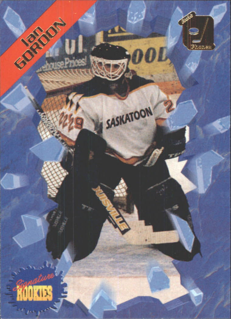 1995 Signature Rookies Auto-Phonex #16 Ian Gordon