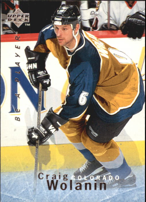 1995-96 Be A Player #59 Craig Wolanin