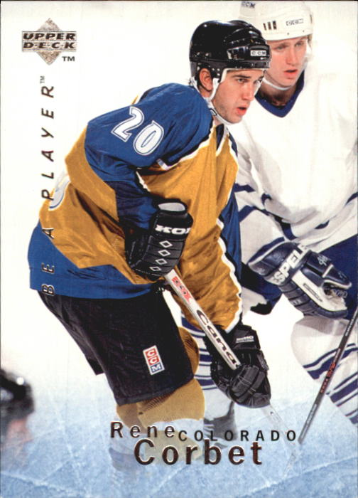 1995-96 Be A Player #78 Rene Corbet