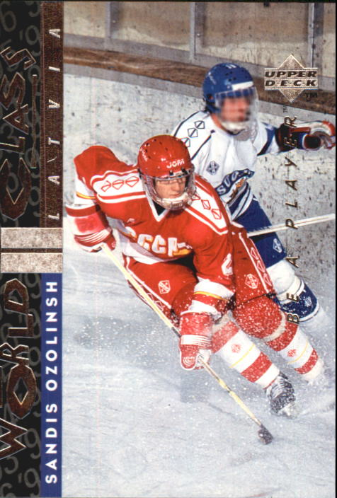 1995-96 Be A Player #183 Sandis Ozolinsh