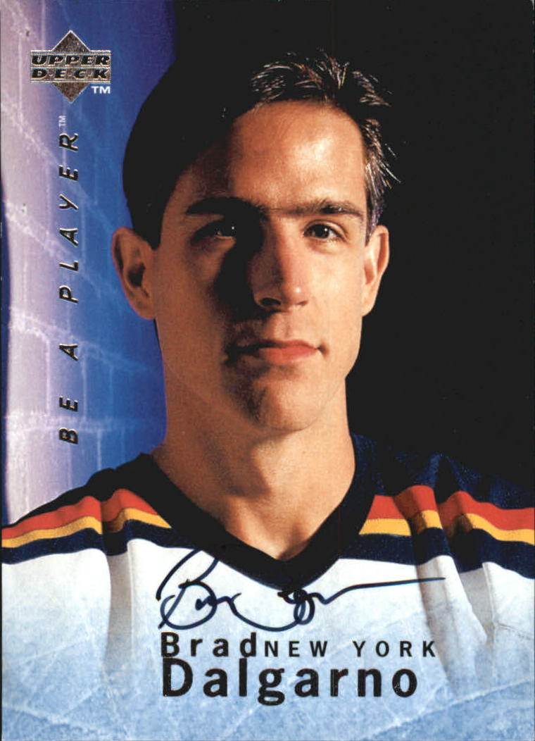 1995-96 Be A Player Autographs #S10 Brad Dalgarno