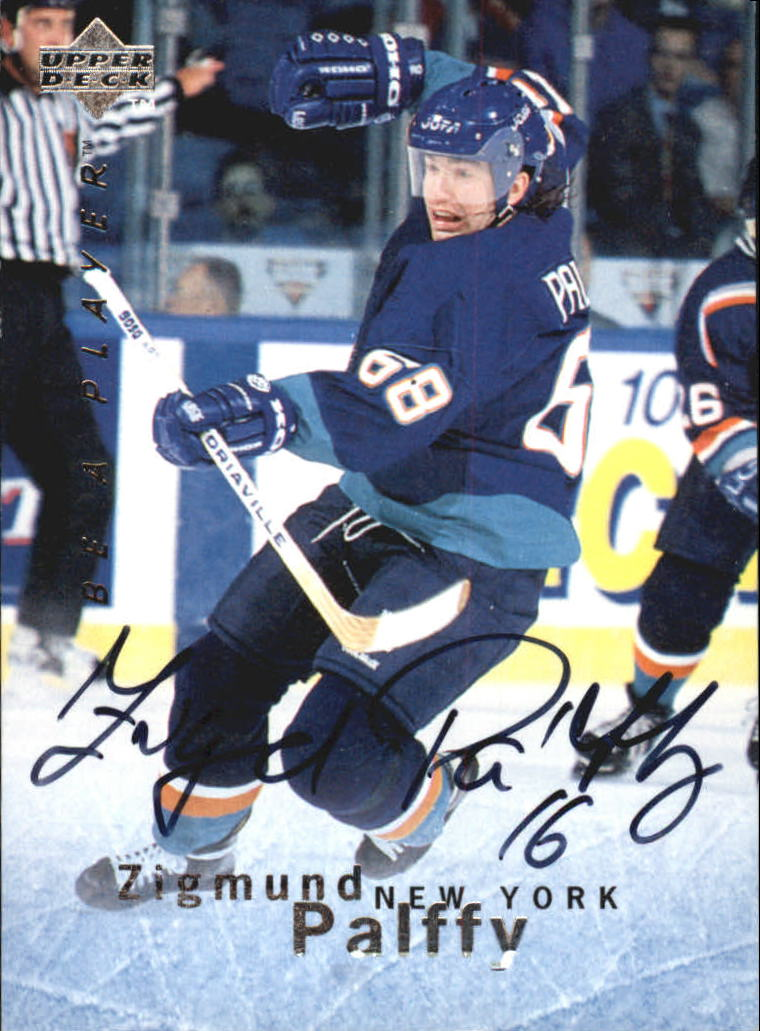 1995-96 Be A Player Autographs #S24 Zigmund Palffy