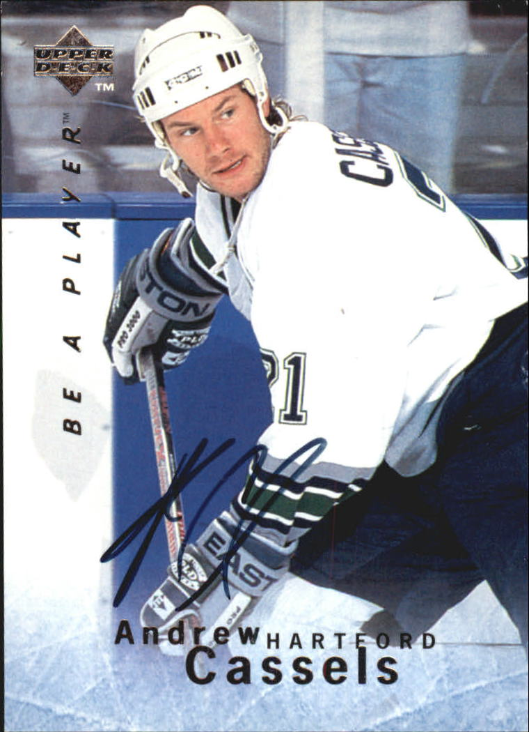 1995-96 Be A Player Autographs #S30 Andrew Cassels
