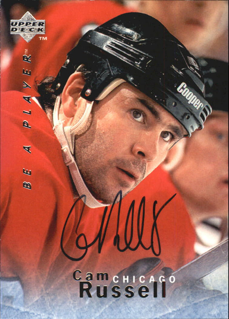 1995-96 Be A Player Autographs #S84 Cam Russell