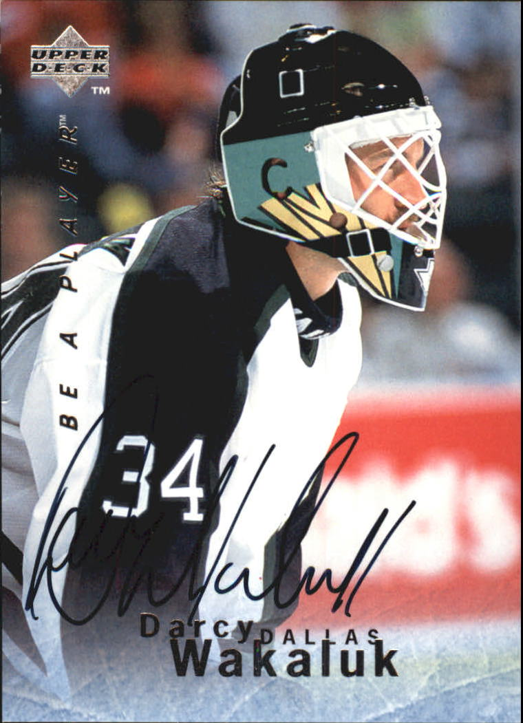 1995-96 Be A Player Autographs #S90 Darcy Wakaluk