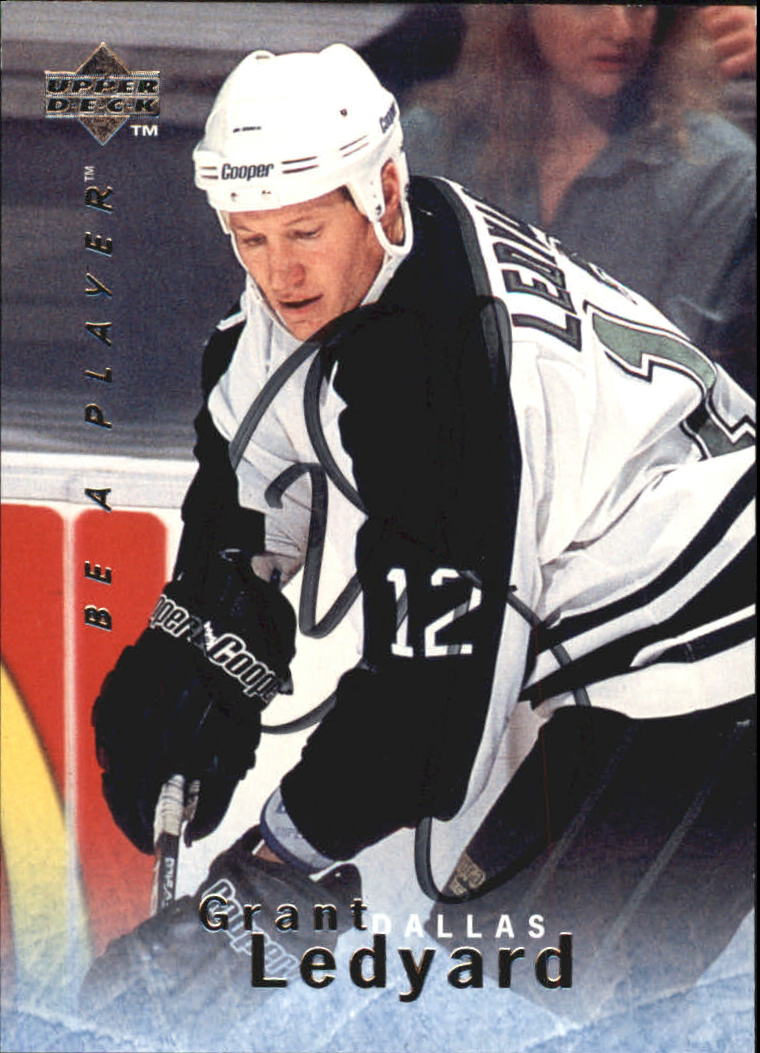 1995-96 Be A Player Autographs #S104 Grant Ledyard