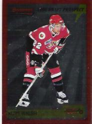 1995-96 Bowman Draft Prospects #P36 Kurt Walsh