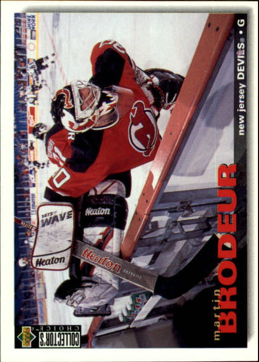 1995-96 Collector's Choice #204 Martin Brodeur