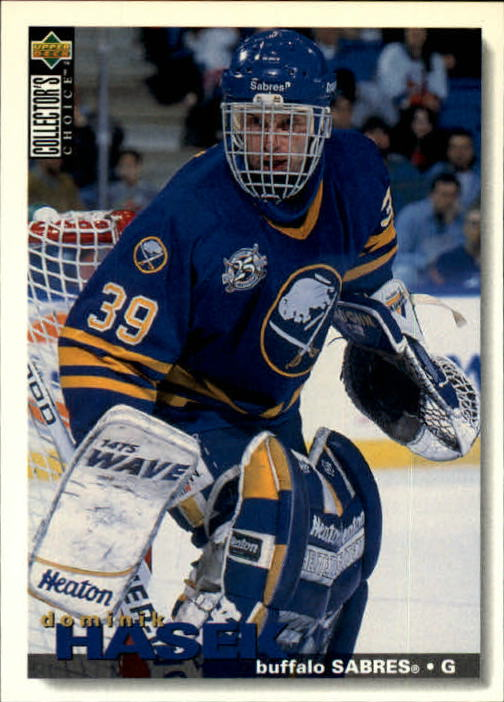 1995-96 Collector's Choice #258 Dominik Hasek