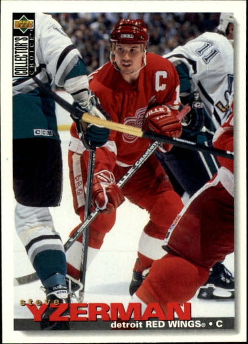 1995-96 Collector's Choice #266 Steve Yzerman