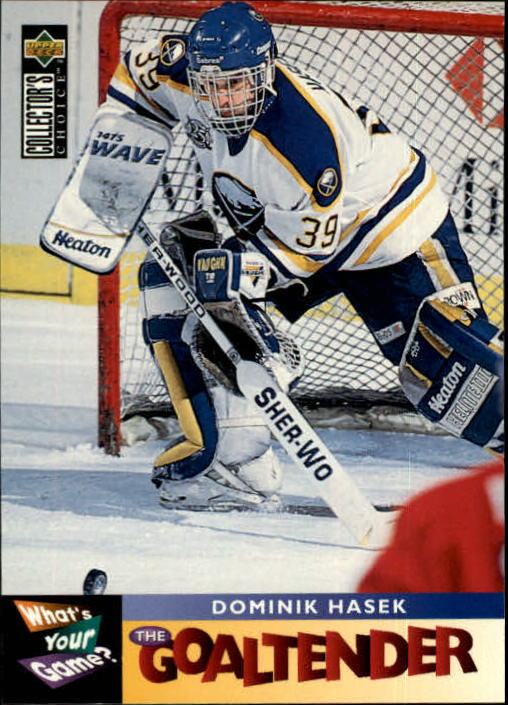 1995-96 Collector's Choice #367 Dominik Hasek WYG