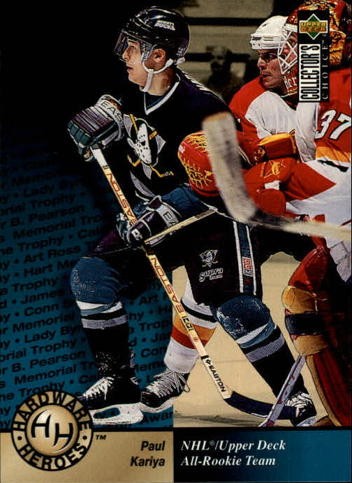 1995-96 Collector's Choice #370 Paul Kariya HH