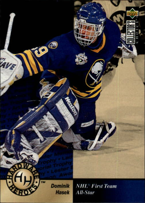 1995-96 Collector's Choice #381 Dominik Hasek HH
