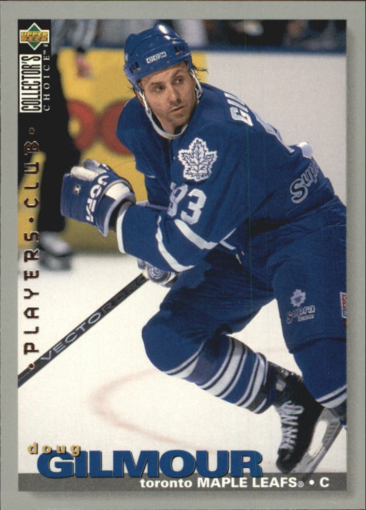 1995-96 Collector's Choice Player's Club #5 Doug Gilmour