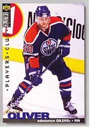 1995-96 Collector's Choice Player's Club #13 David Oliver