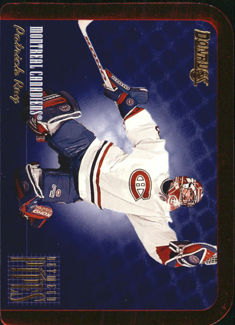1995-96 Donruss Between The Pipes #7 Patrick Roy