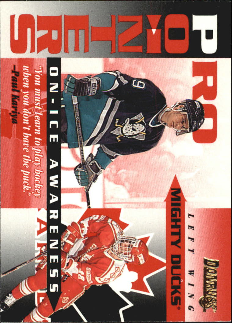 1995-96 Donruss Pro Pointers #19 Paul Kariya