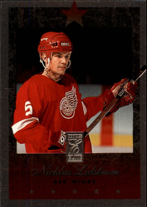 1995-96 Donruss Elite #2 Nicklas Lidstrom