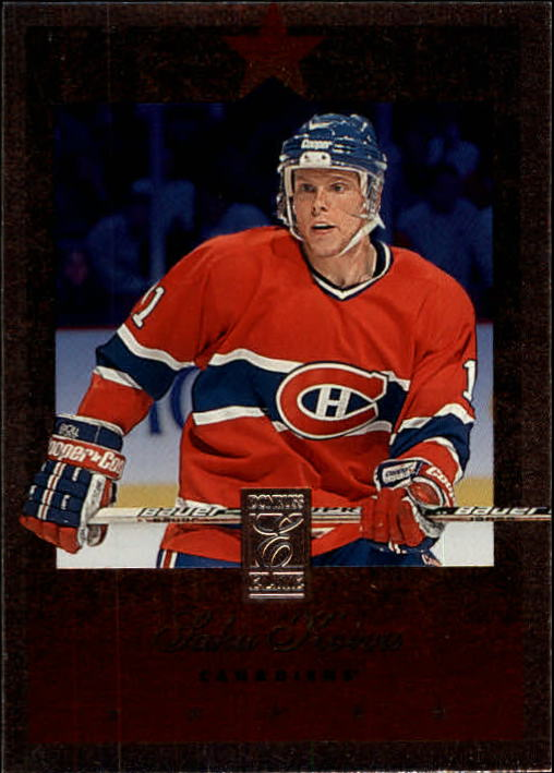 1995-96 Donruss Elite #67 Saku Koivu