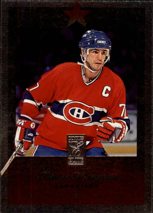 1995-96 Donruss Elite #90 Pierre Turgeon