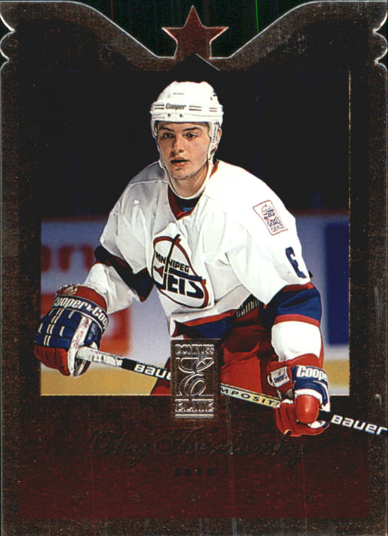 1995-96 Donruss Elite Die Cuts #6 Oleg Tverdovsky