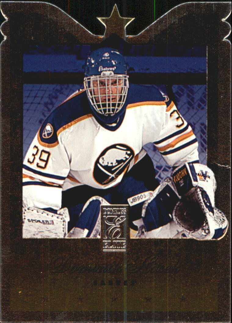 1995-96 Donruss Elite Die Cuts #30 Dominik Hasek