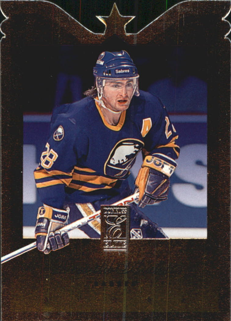 1995-96 Donruss Elite Die Cuts #49 Donald Audette