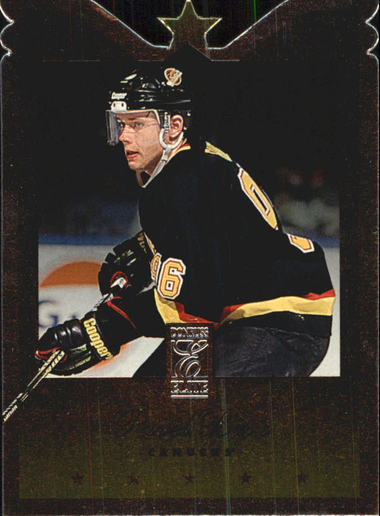 1995-96 Donruss Elite Die Cuts #77 Pavel Bure