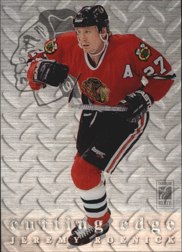 1995-96 Donruss Elite Cutting Edge #14 Jeremy Roenick
