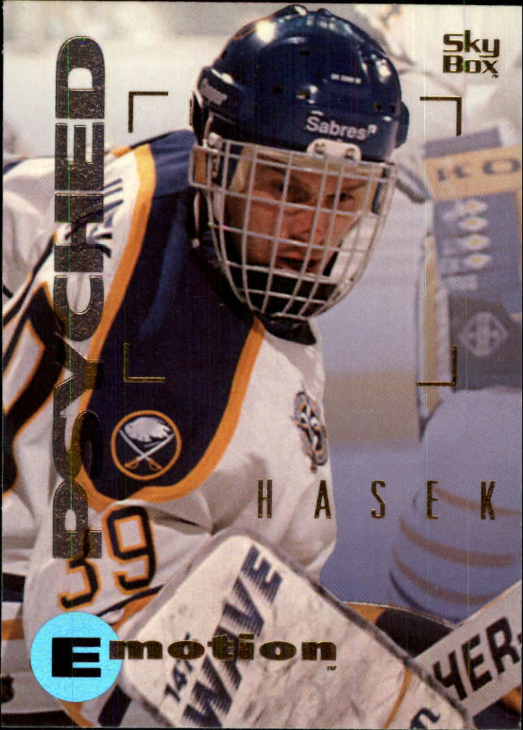 1995-96 Emotion #16 Dominik Hasek