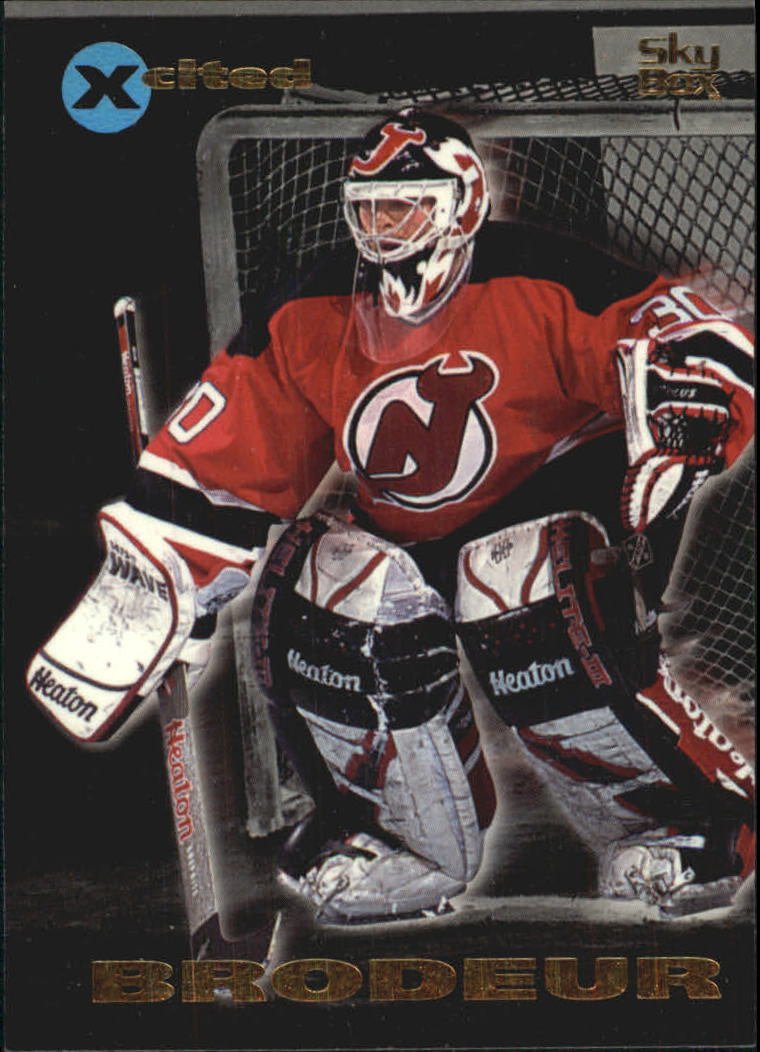 1995-96 Emotion Xcited #18 Martin Brodeur