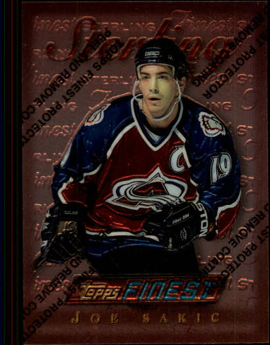 1995-96 Finest #15 Joe Sakic B