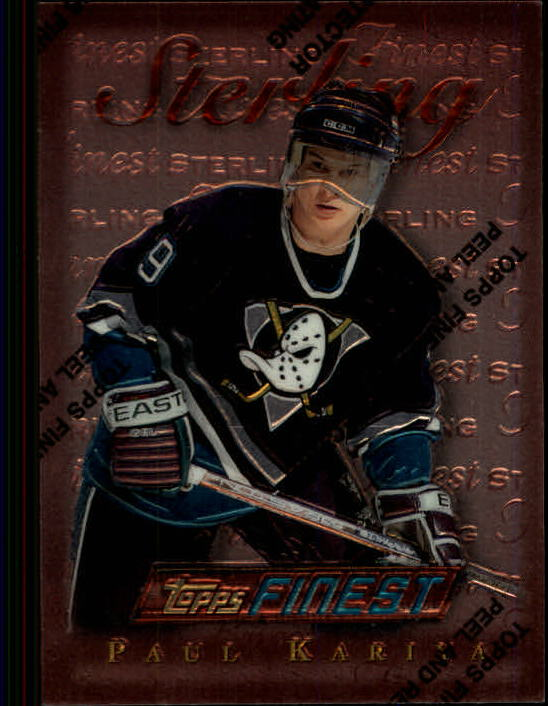 1995-96 Finest #165 Paul Kariya B