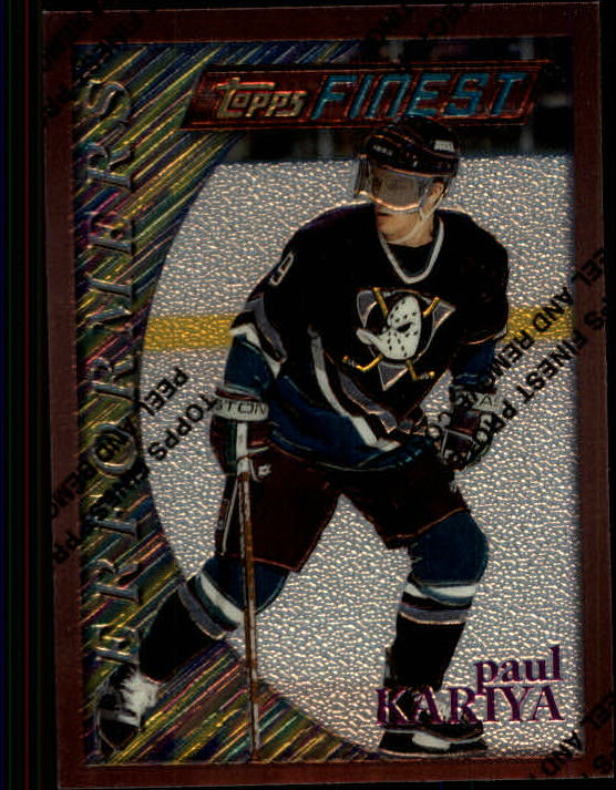 1995-96 Finest #189 Paul Kariya B