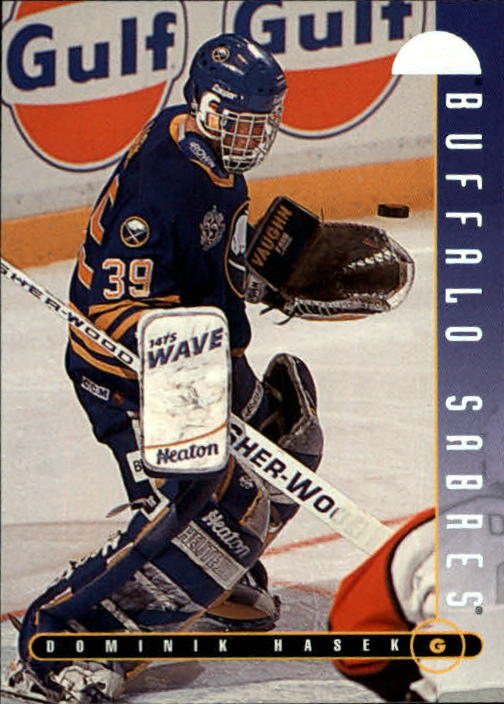 1995-96 Leaf #56 Dominik Hasek