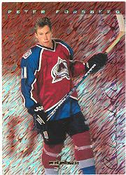 1995-96 Leaf Limited #2 Peter Forsberg