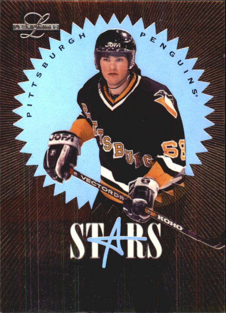 1995-96 Leaf Limited Stars of the Game #8 Jaromir Jagr
