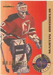 1995-96 Leaf Limited Stick Side #2 Martin Brodeur