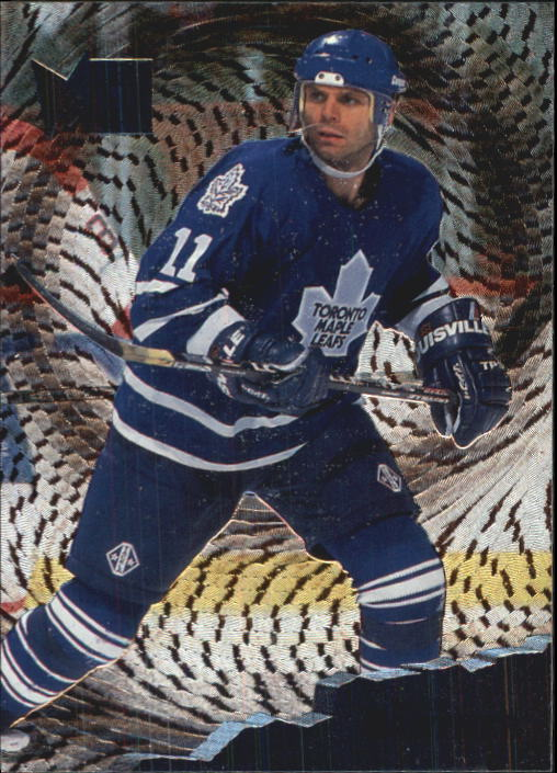 1995-96 Metal #142 Mike Gartner
