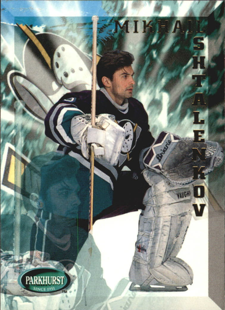 1995-96 Parkhurst International #6 Mikhail Shtalenkov