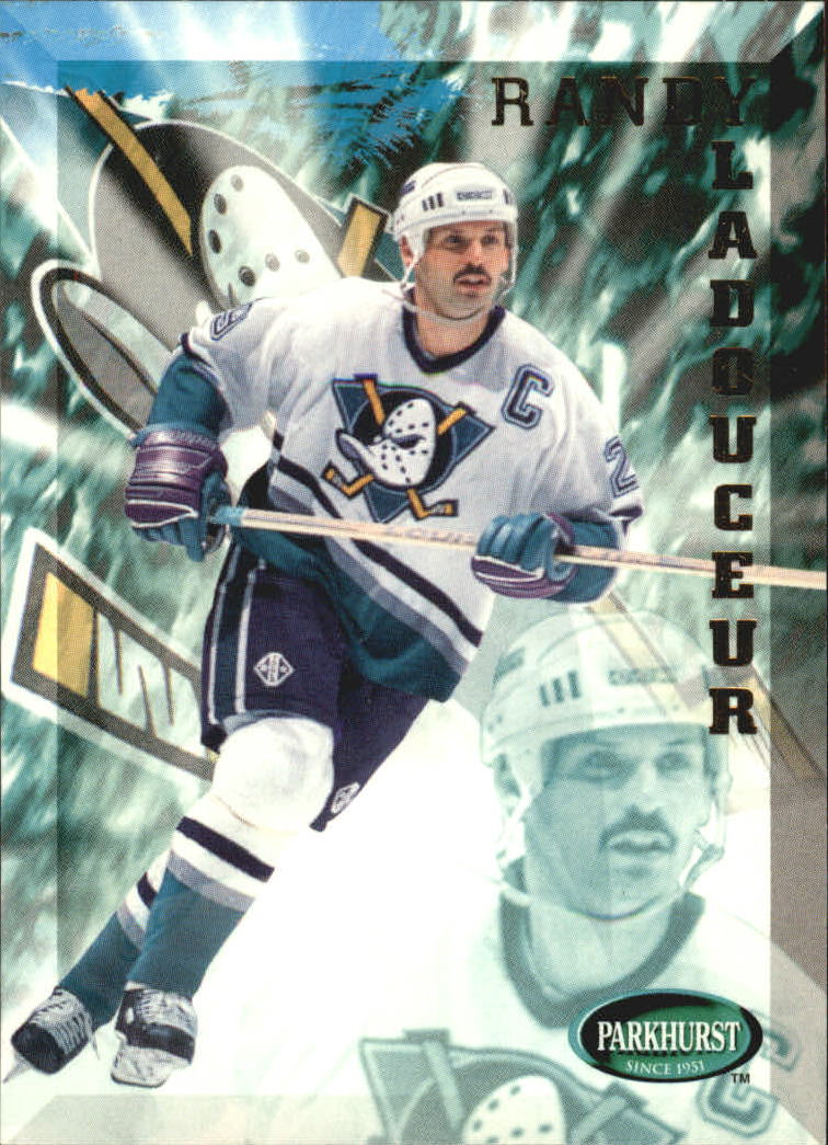 1995-96 Parkhurst International #7 Randy Ladouceur