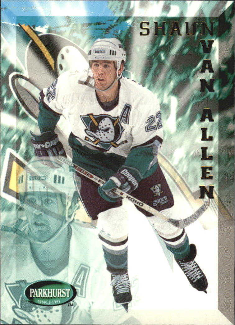 1995-96 Parkhurst International #8 Shaun Van Allen