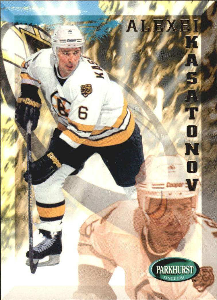 1995-96 Parkhurst International #15 Alexei Kasatonov