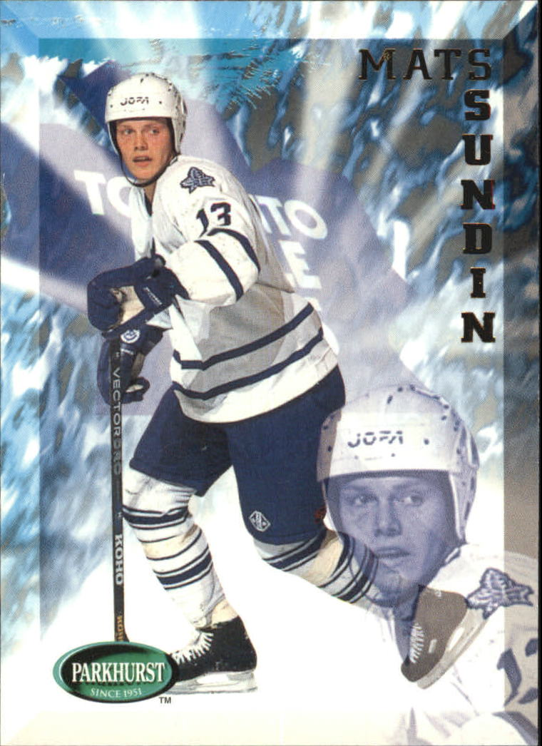 1995-96 Parkhurst International #201 Mats Sundin