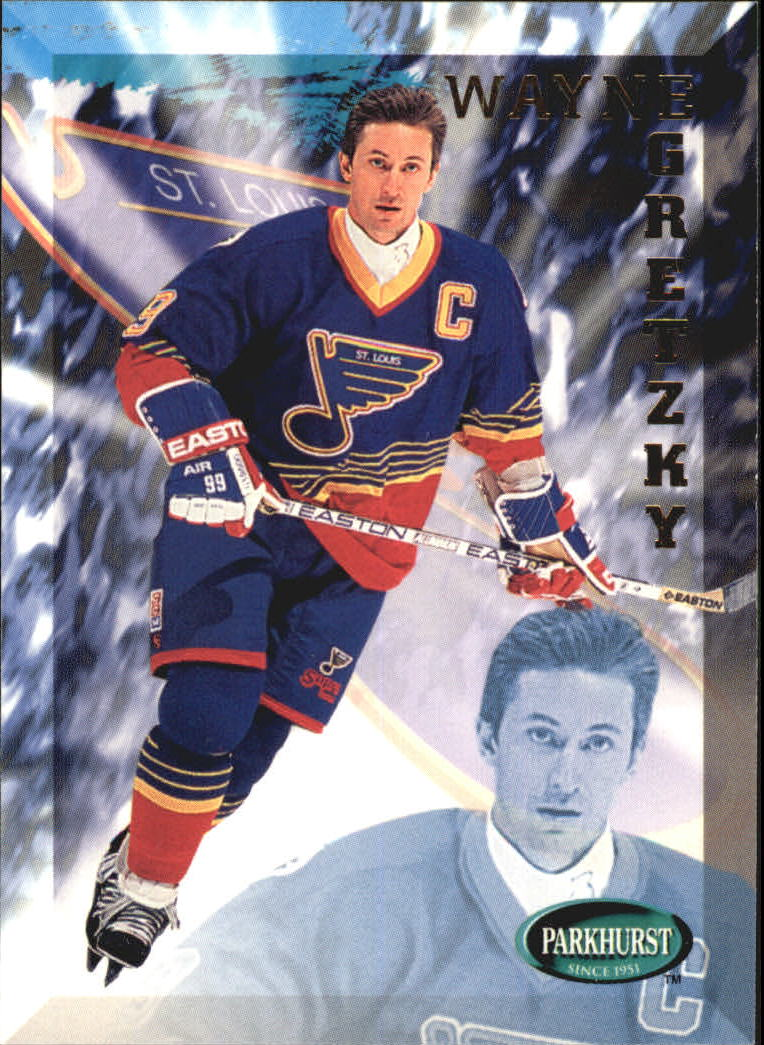 1995-96 Parkhurst International #449 Wayne Gretzky