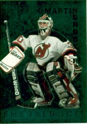 1995-96 Parkhurst International Emerald Ice #122 Martin Brodeur