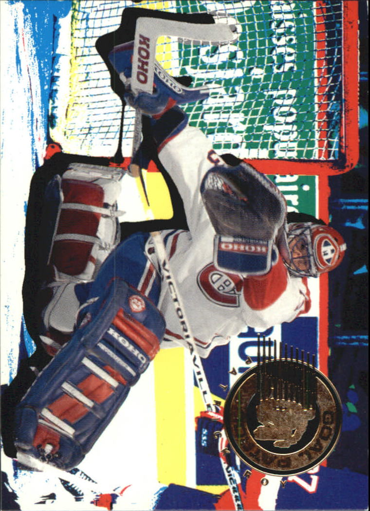 1995-96 Parkhurst International Goal Patrol #2 Felix Potvin
