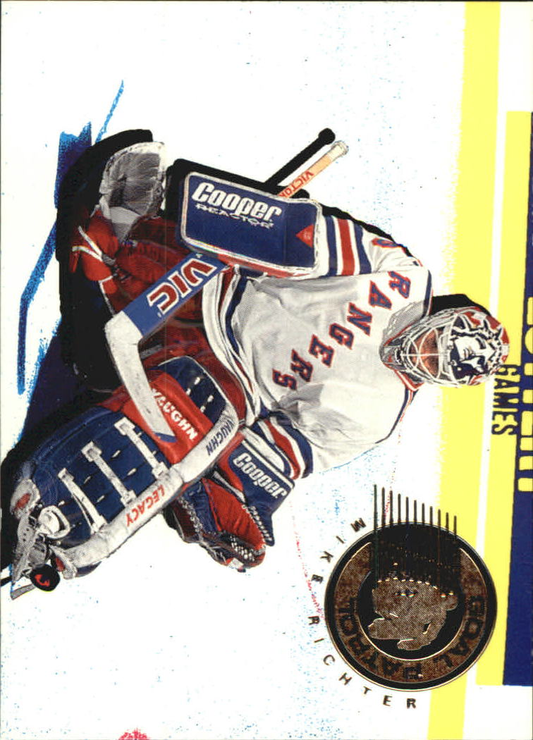 1995-96 Parkhurst International Goal Patrol #12 Mike Richter