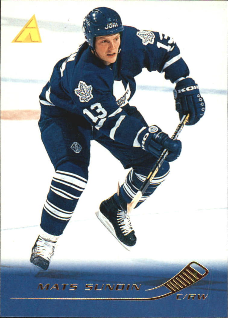 1995-96 Pinnacle #19 Mats Sundin